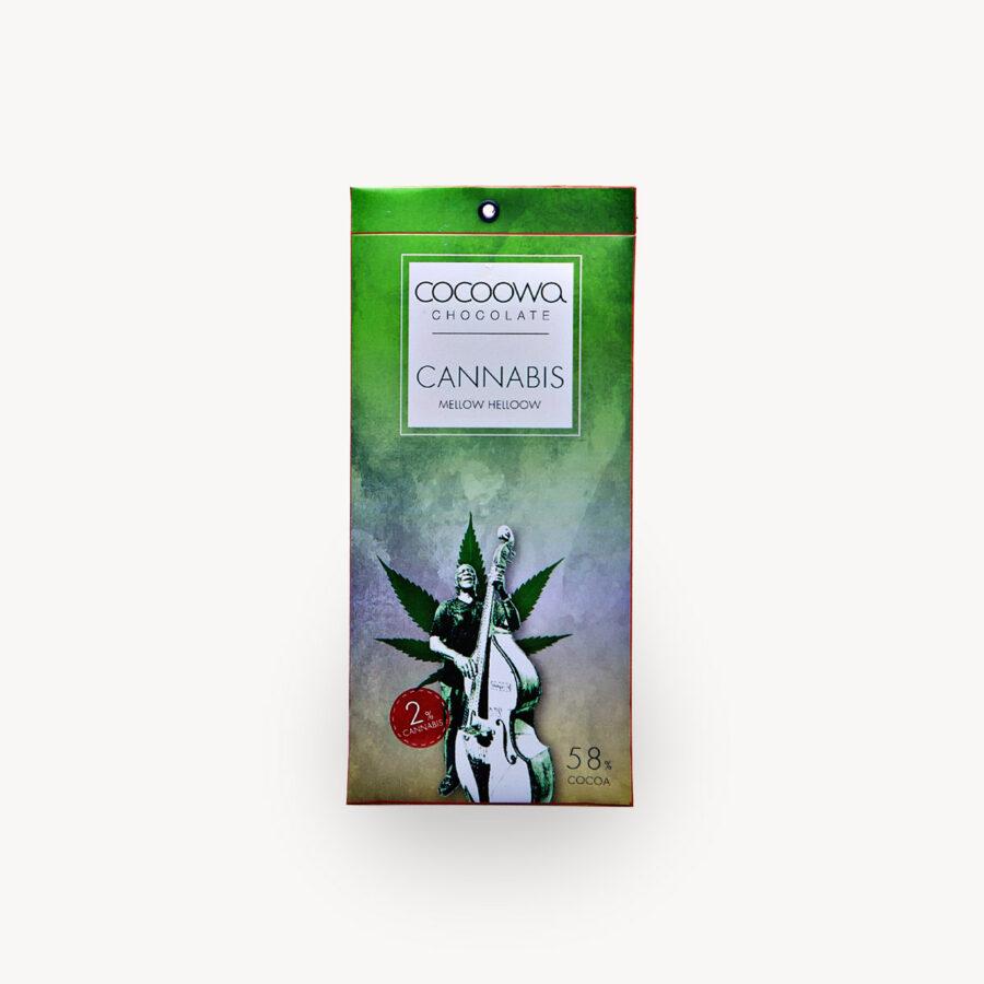 Εξώφυλλο σοκολάτας Cannabis