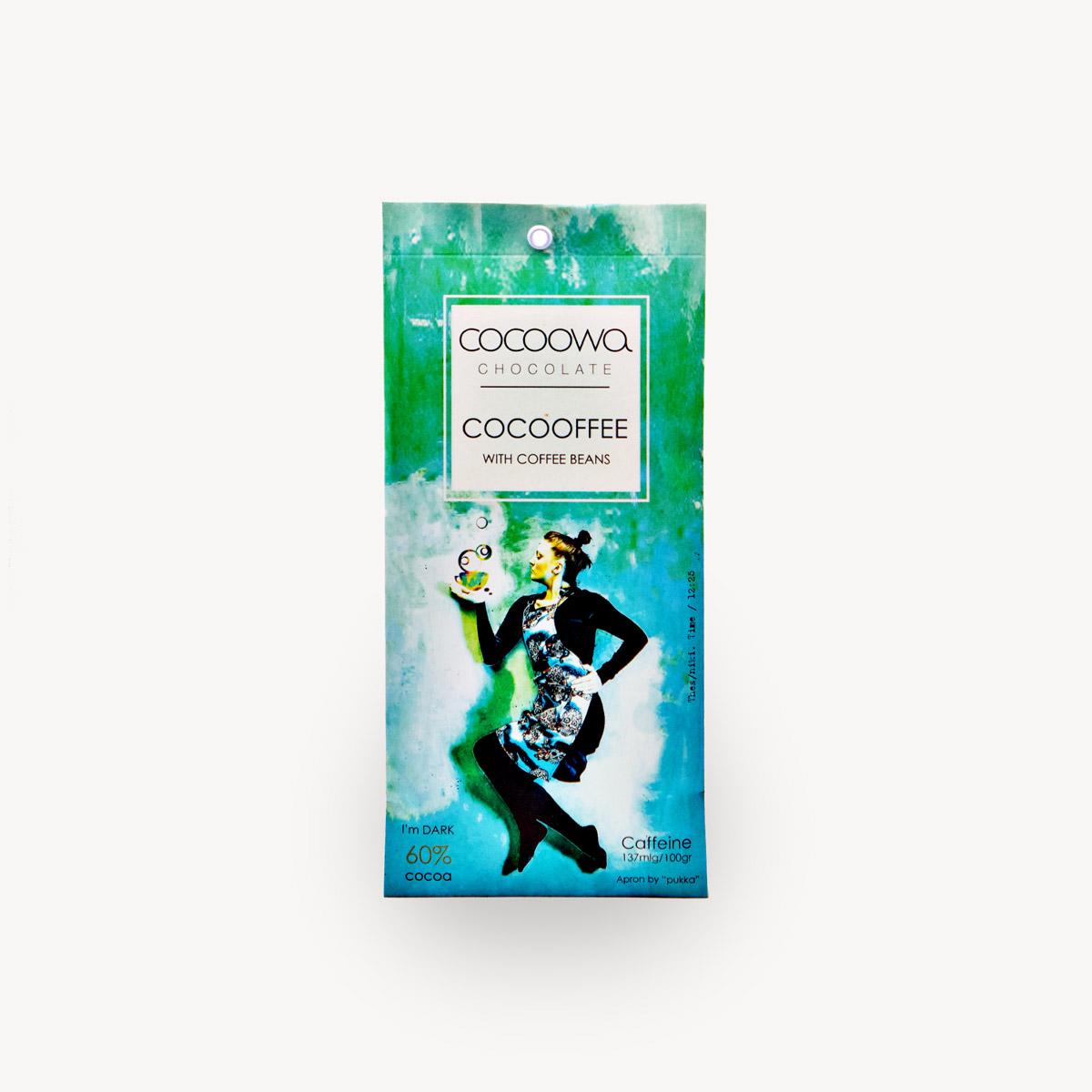 Εξώφυλλο σοκολάτας Cocooffee