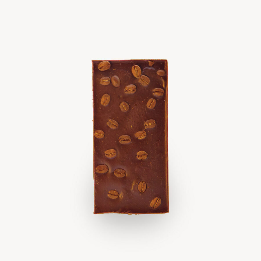 Σοκολάτα Cocooffee, φωτογραφία προϊόντος χωρίς το περιτύλιγμα.