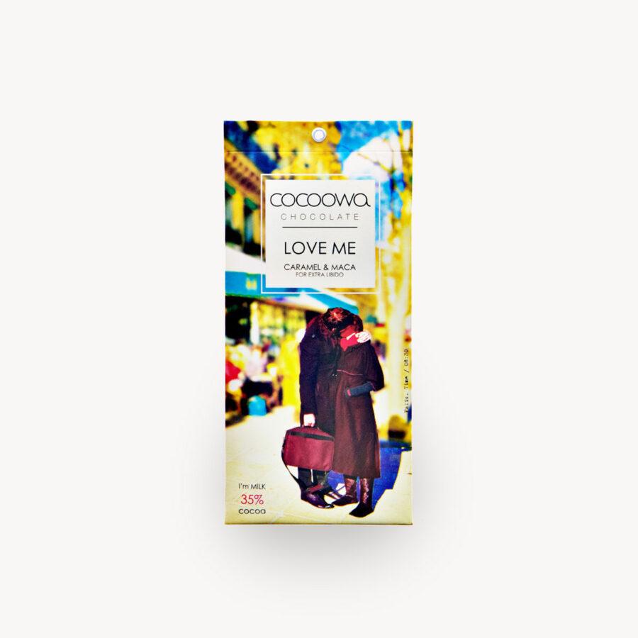 Εξώφυλλο σοκολάτας Love Me