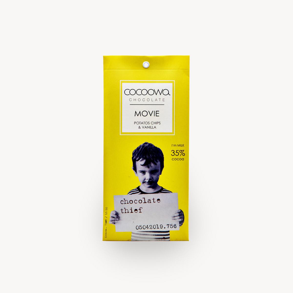 Εξώφυλλο σοκολάτας Movie