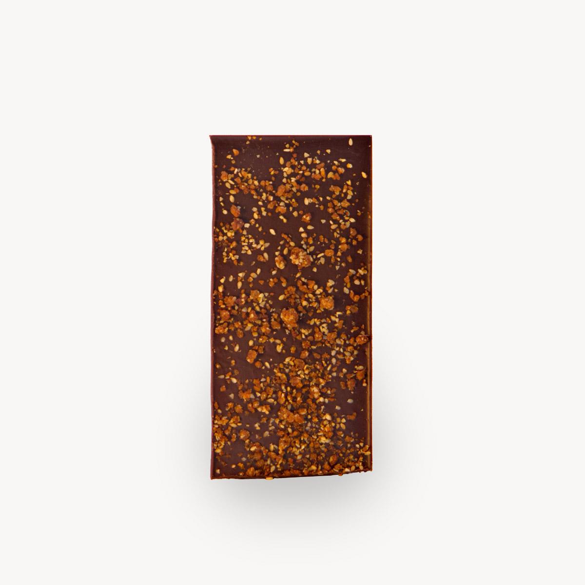 Σοκολάτα Negro, φωτογραφία προϊόντος χωρίς το περιτύλιγμα.