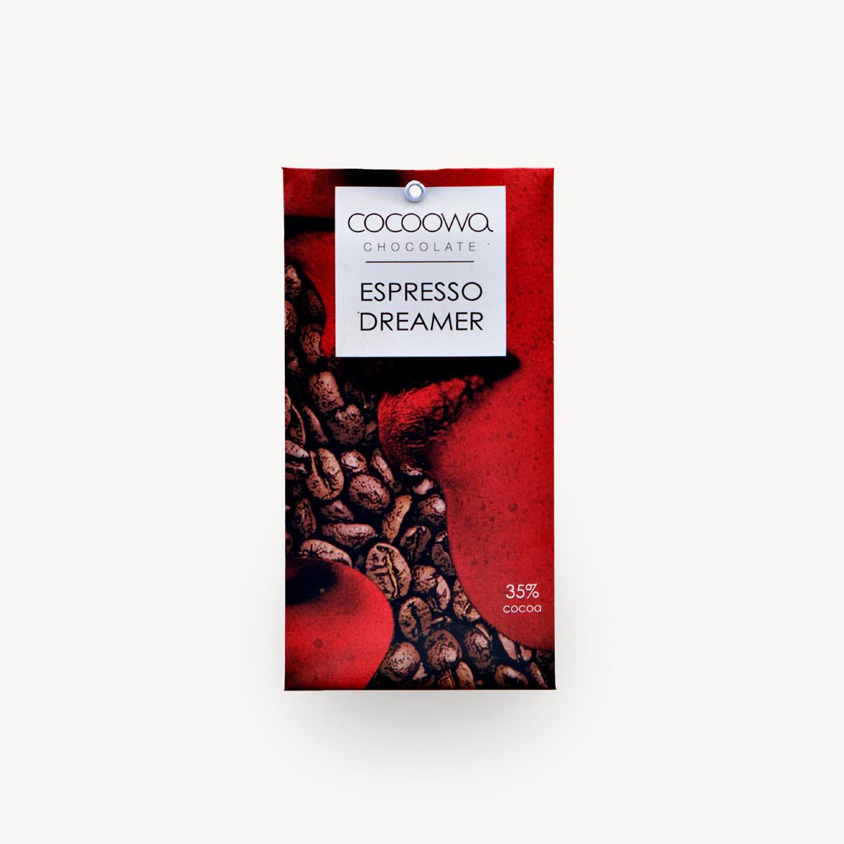Εξώφυλλο σοκολάτας Espresson Dreamer