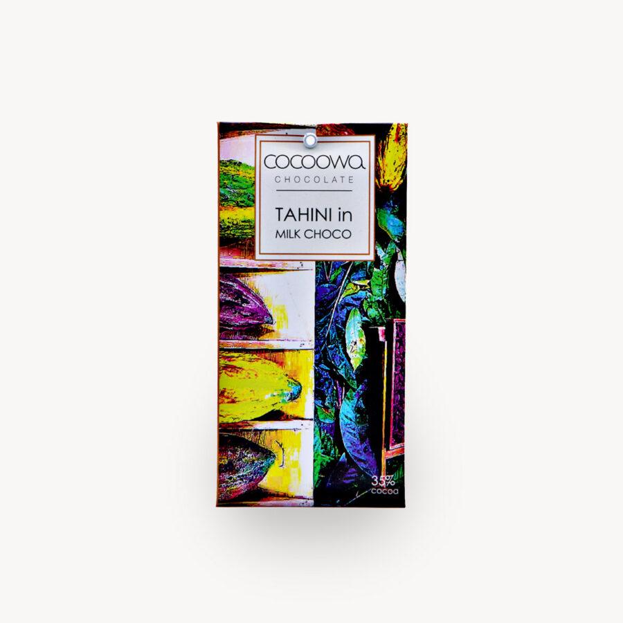 Εξώφυλλο σοκολάτας Tahini