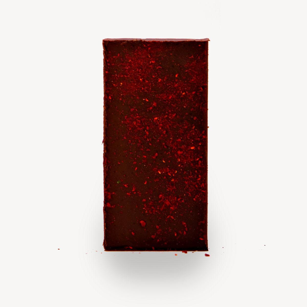Σοκολάτα Cocoowa Dark to Dark, φωτογραφία προϊόντος χωρίς το περιτύλιγμα.