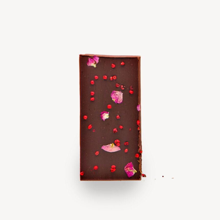 Σοκολάτα Cocoowa Six Senses, φωτογραφία προϊόντος χωρίς το περιτύλιγμα.